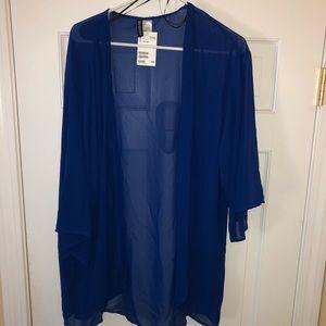 H&M sheer kimono